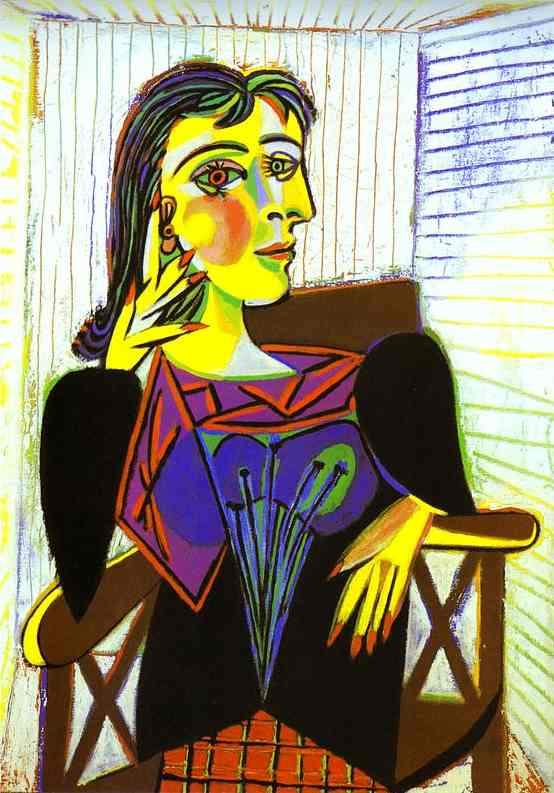 Picasso's Dora Maar as Eve, Apple and Serpent