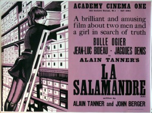 """Innovative Poster of """"The Salamander"""""""