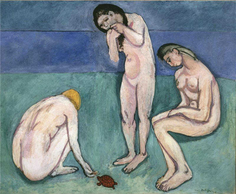 """Matisse - Prosaic Meadow and Violet Perspective: """"Pessimistic"""" View on Development"""