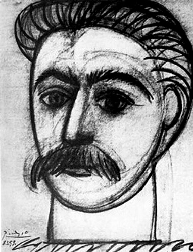 Picasso - Portrait of Joseph Stalin, 1953