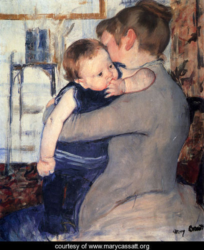 Marry Cassatt - Page 2 Mother-And-Child-1