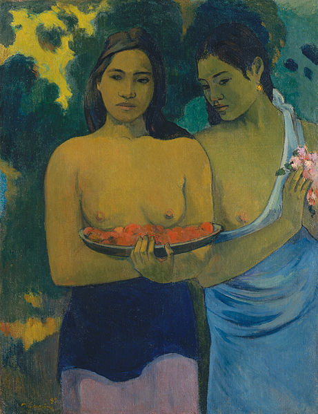 "Paul Gauguin, ""Two Tahitian Women"", 1899"