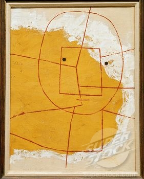 "Paul Klee, ""The One Who Understands"", (framed)"