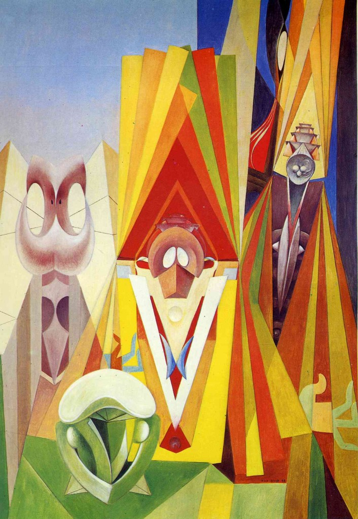 "Max Ernst, ""The Feast of the Gods"" (1948)"