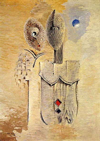 """Max Ernst, """"Two Sisters"""" (1926)"""
