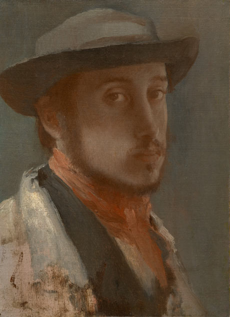 degas self portrait new