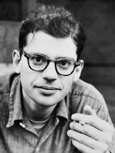 Allen Ginsberg in his youth