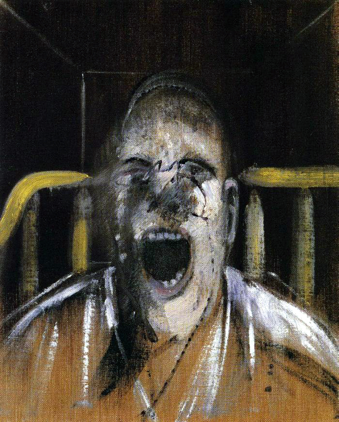 "Francis Bacon ""Study for the Head of a Screaming Pope"", 1952"