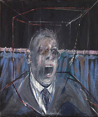 "Francis Bacon, ""Study for a Portrait"" or ""Businessman 1"", 1952"