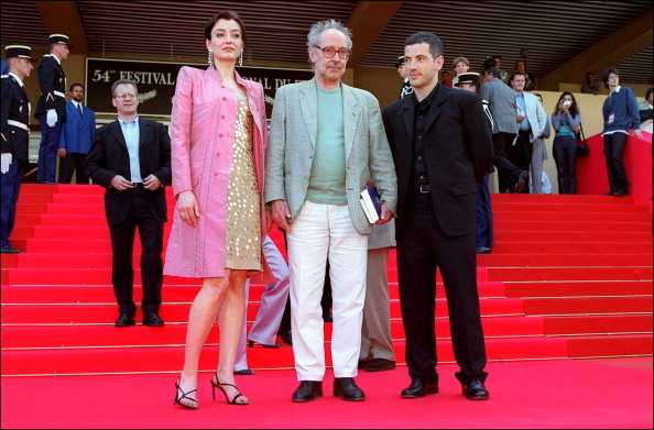"""54th Cannes Festival: Photo-call of """" Eloge a l'Amour"""" by Jean-Luc Godard In Cannes, France On May 15, 2001-"""