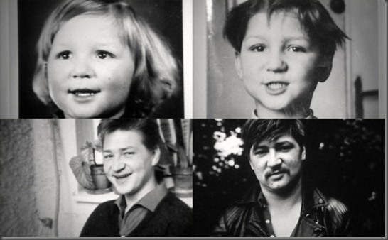 Fassbinder at different ages