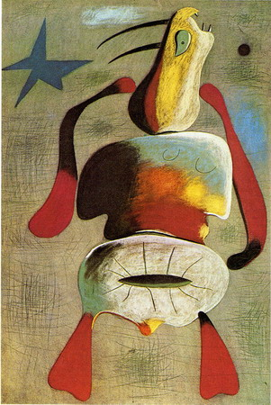 Joan Miró Woman, 1934