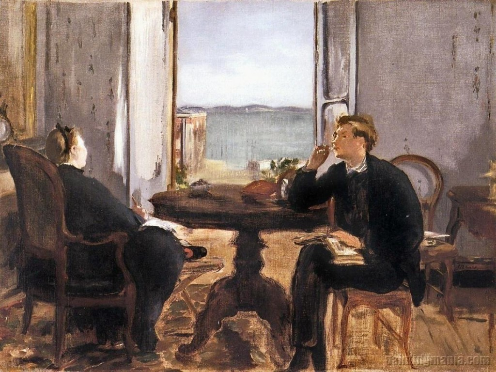 "Edouard Manet's ""Interior at Arcachon"" (1871)"