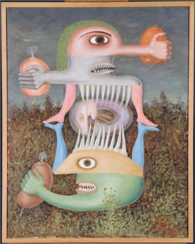 "Victor Brauner's ""Totem of Blessed Subjectivity"" (1948)"