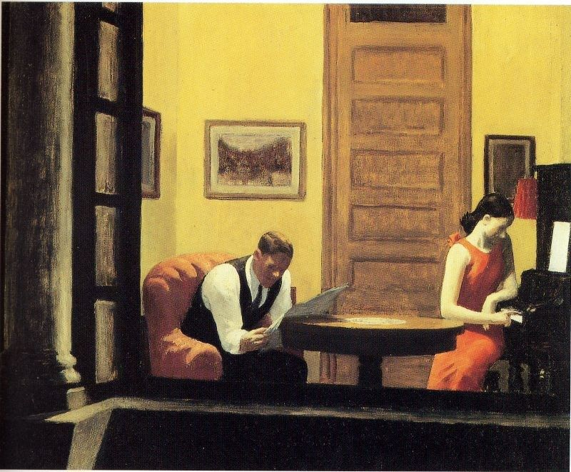 Edward Hopper S Paintings With Humorous Connotations