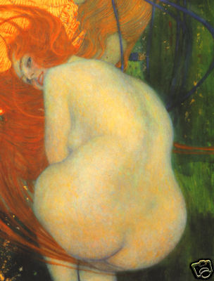 Gustav Klimt, Gold Fish, 1901 - 1902