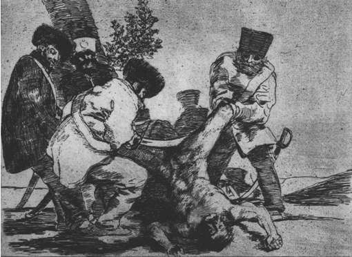 "Francisco Goya, ""The Disasters of War"""