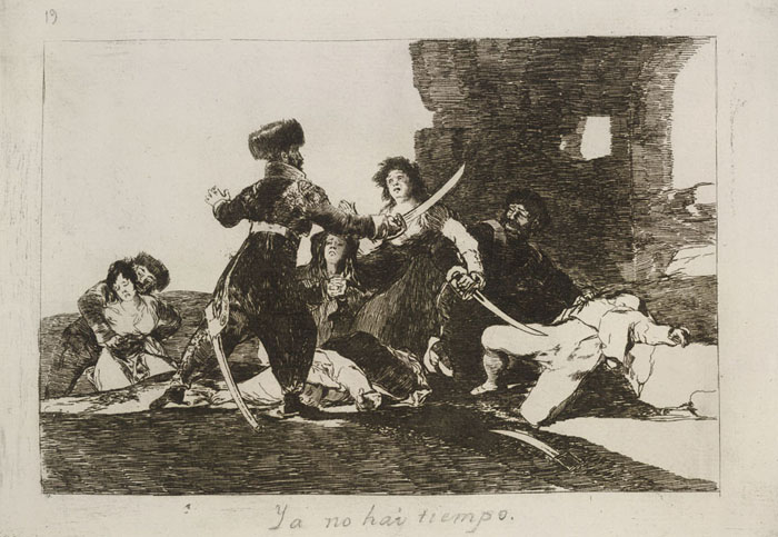 Francisco Goya, Drawing 5 from his Antiwar Series