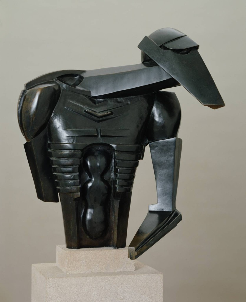 Torso in Metal from 'The Rock Drill' 1913-14 Sir Jacob Epstein 1880-1959 Purchased 1960 http://www.tate.org.uk/art/work/T00340