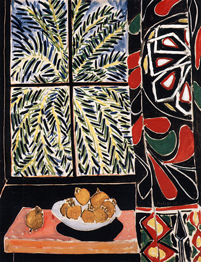 """Henry Matisse, """"Interior with Egyptian Curtain"""", 1948"""