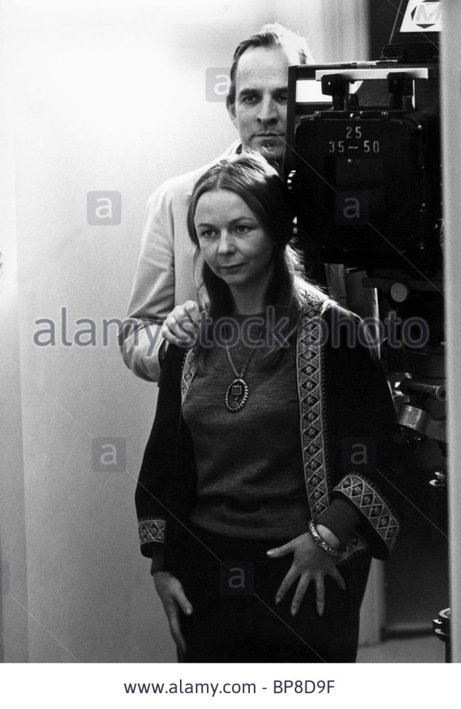 Bergman is directing Sheila Reid, playing the role of David's sister
